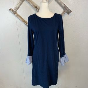 BeachLunchLounge Navy Long Sleeve Dress